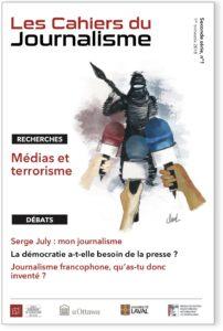 Couverture cahiers du journalisme