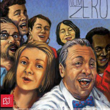 Couverture du magazine NuméroZéro